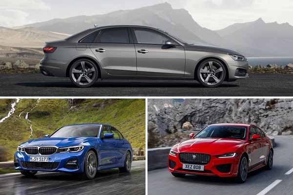 Audi A4, BMW 3 Series, Jaguar XE