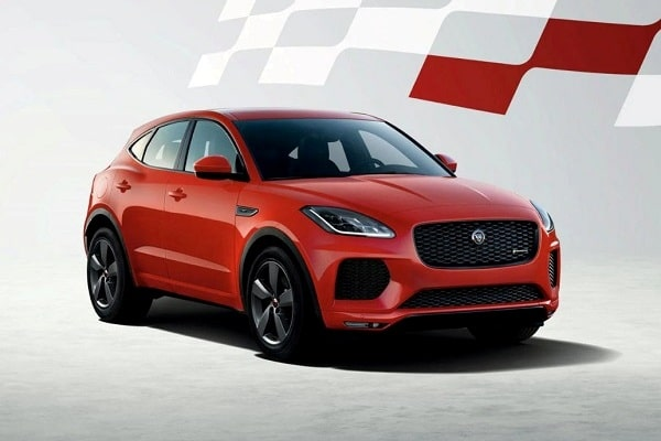Jaguar E-Pace «Chequered Flag» 2020 года