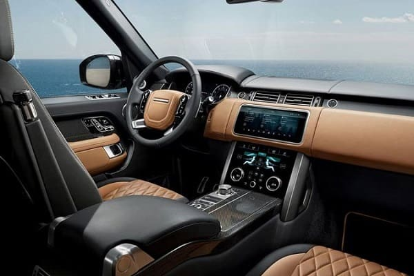 Салон Range Rover Evoque 2 поколения