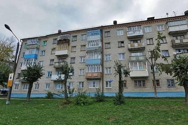 Дом времен Брежнева