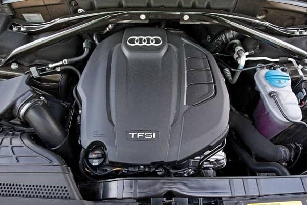 Двигатель Audi Q5 2019 года