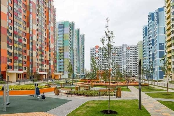 Новый жилой комплекс в Москве