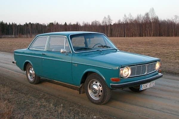 Volvo 142 1969 года