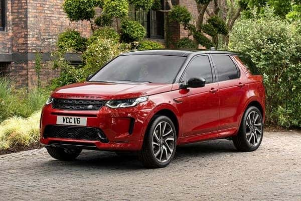 Land Rover Discovery Sport 2019 года
