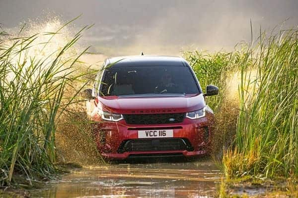 Салон Land Rover Discovery Sport
