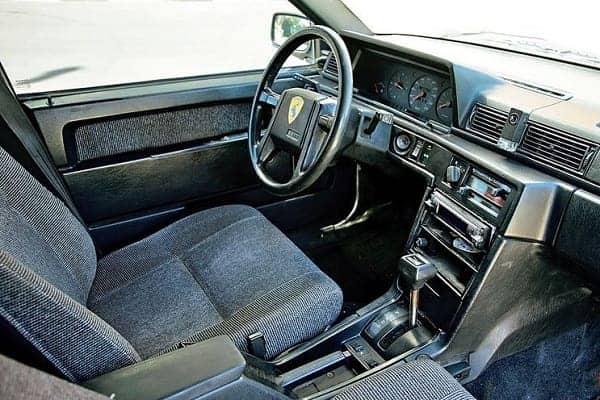 Салон Volvo 740