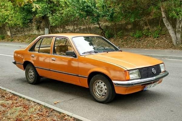 Opel Rekord E1 1977 года