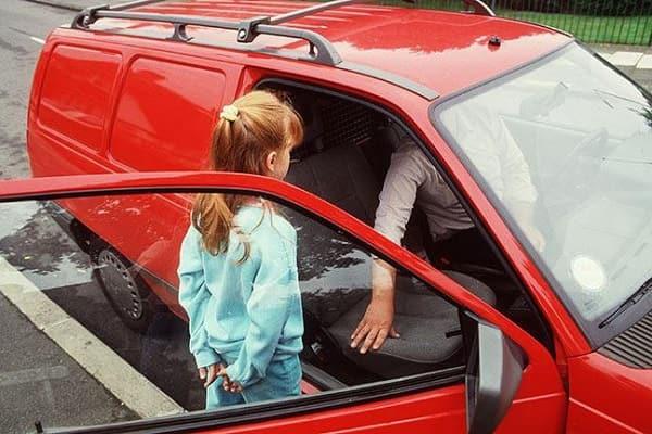 Автоподстава с ребенком