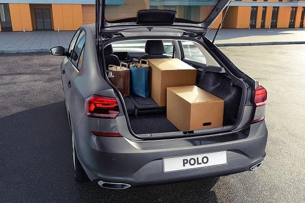 Багажник Volkswagen Polo 2020 года