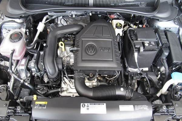 Двигатель Volkswagen Polo 2020 года