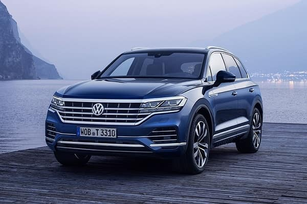 Volkswagen Touareg 2020 года
