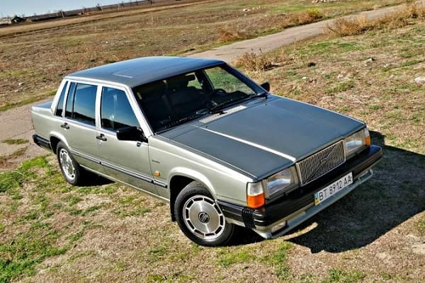 Volvo 760 Turbo 1990 года