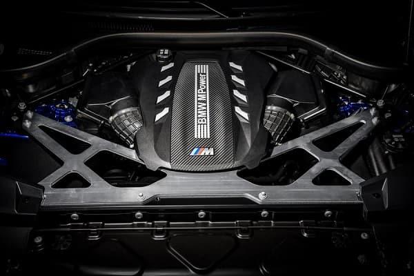 Двигатель BMW X5 M 2020 года