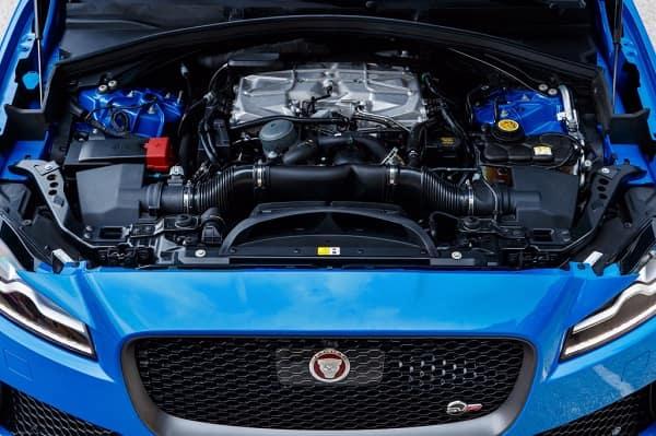 Двигатель Jaguar F-Pace SVR