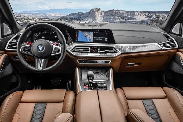 Салон BMW X5 M 2020