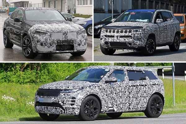 Среднеразмерные кроссоверы 2021 года: BMW X4, Jeep Compass, Range Rover Evoque