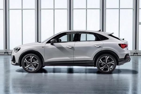 Салон Audi Q3 Sportback 2020 года