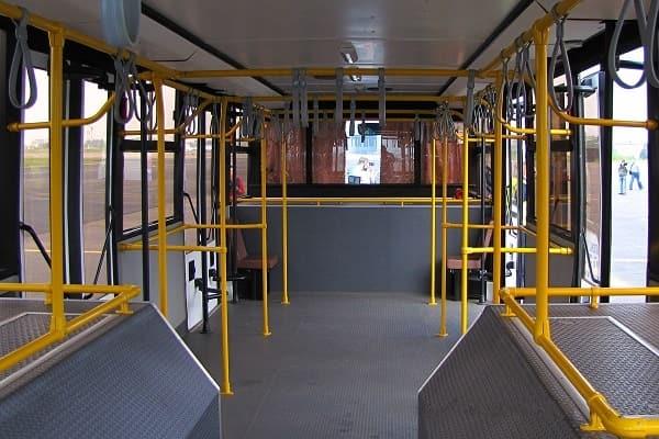 Салон МАЗ-171