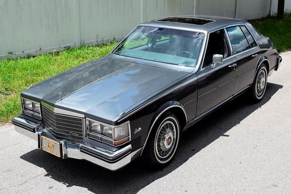 Cadillac Seville 1985 года