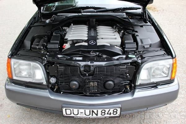 Двигатель Mercedes-Benz W140 1992 года