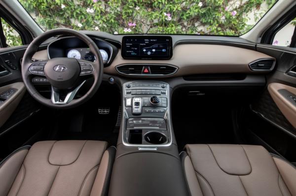 Обзор Hyundai Santa Fe New 2021